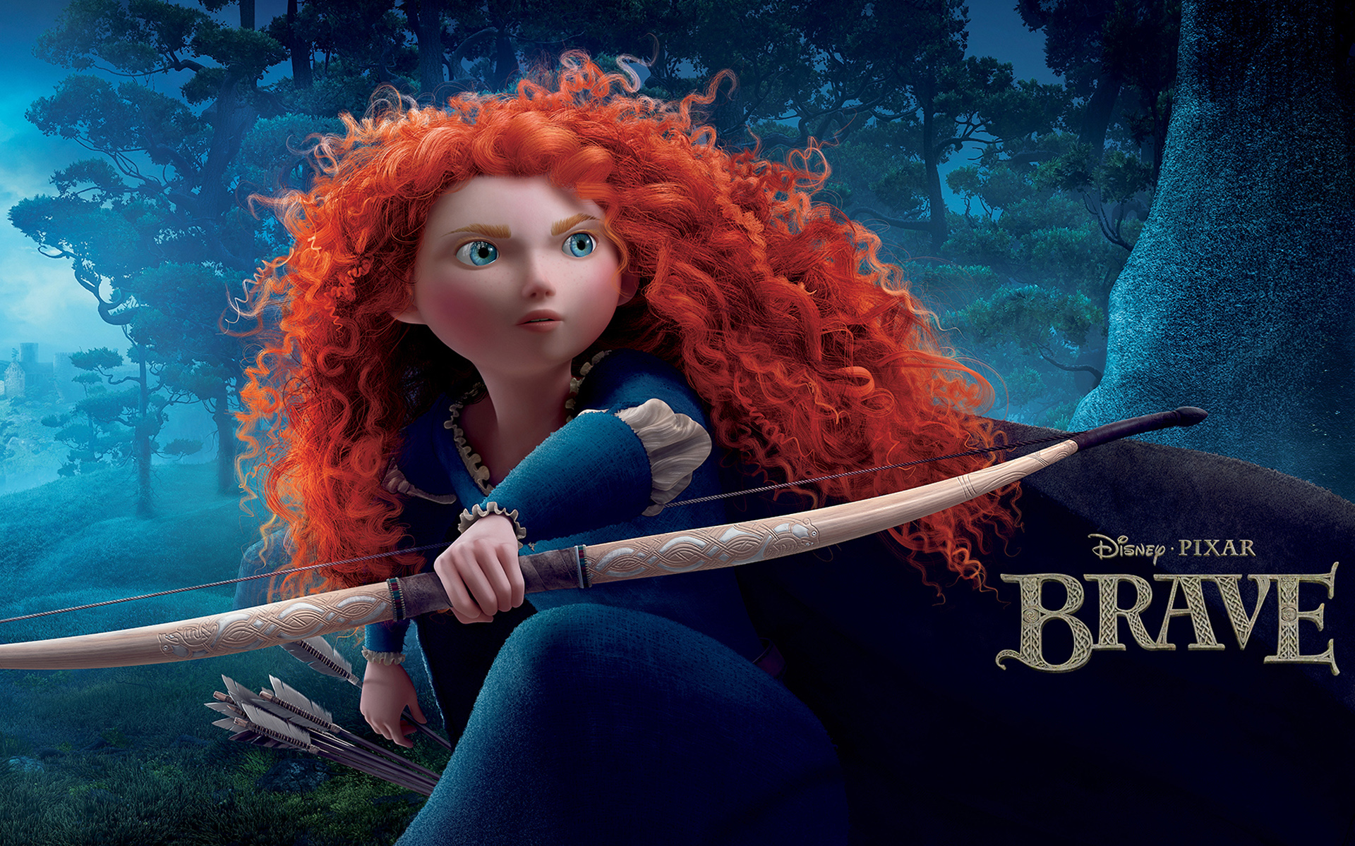 Disney Pixar Brave wallpaper