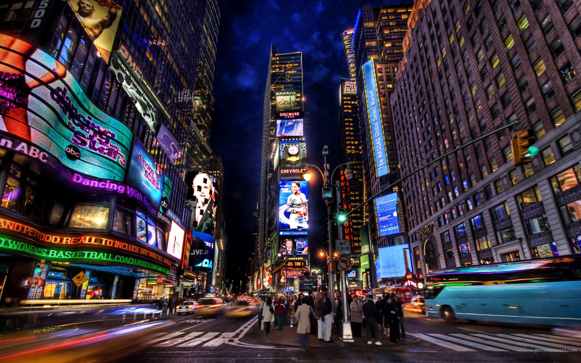 Times Square Night wallpaper