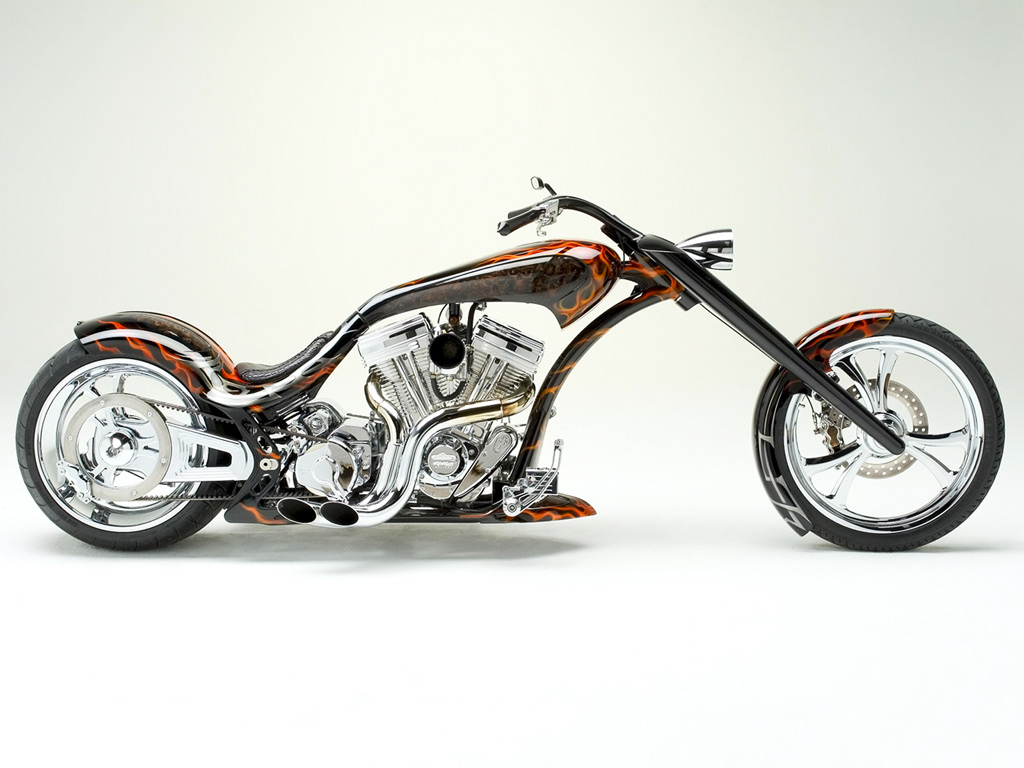Motorcycles In Hd Thunder Custom Chopper Motorcycle 150037 Wallpaper wallpaper