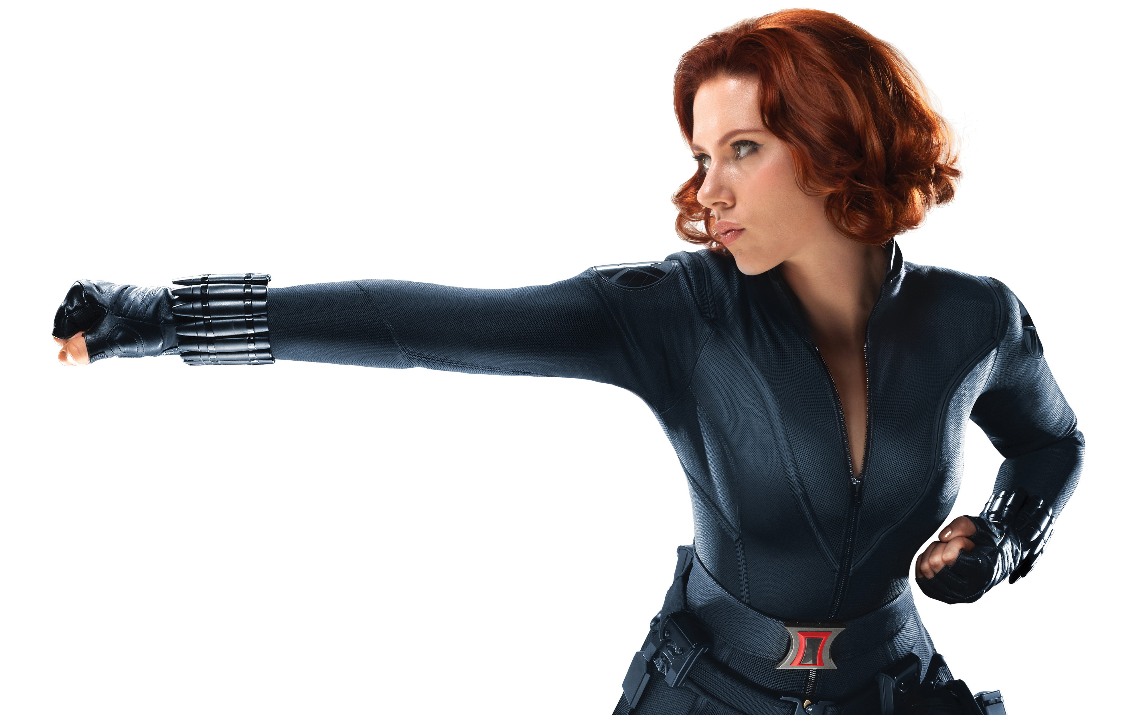 Scarlett Johansson as Black Widow in Avengers wallpaper