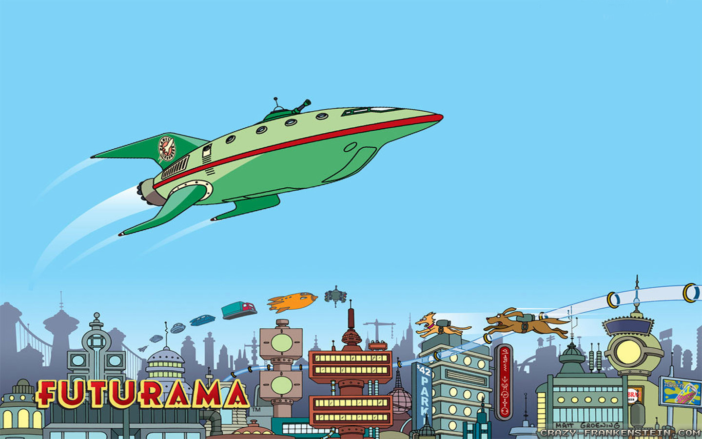 Cartoons Futurama Crazy Frankenstein 307646 Wallpaper wallpaper