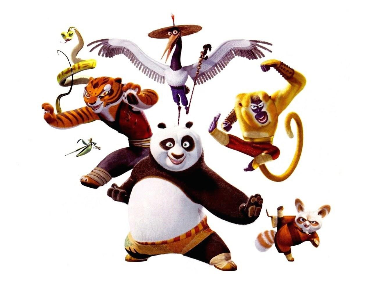 Group of film cartoni animati wallpaper
