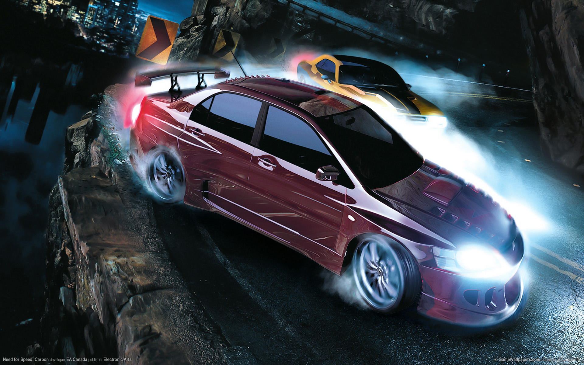 Carbon Nfs Car Duel The Free Hd For 679854 Wallpaper wallpaper