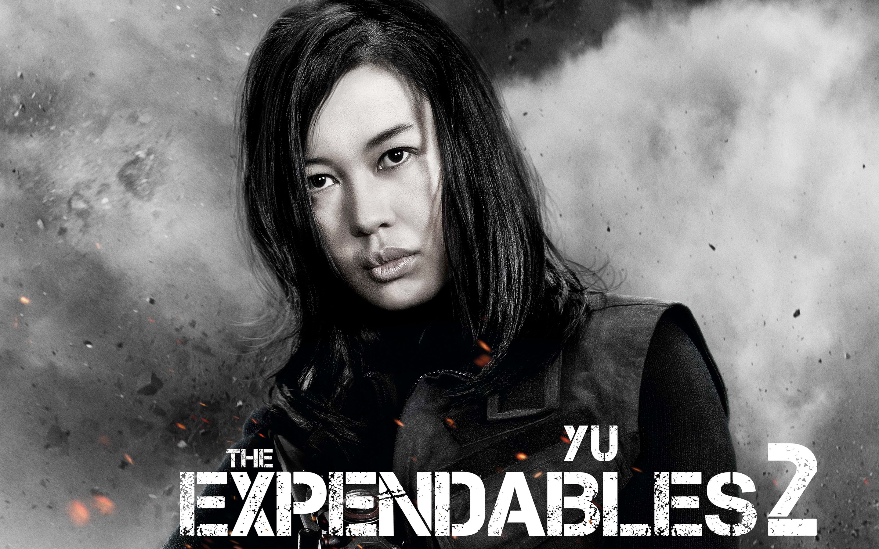 Yu Nan in The Expendables 2 wallpaper