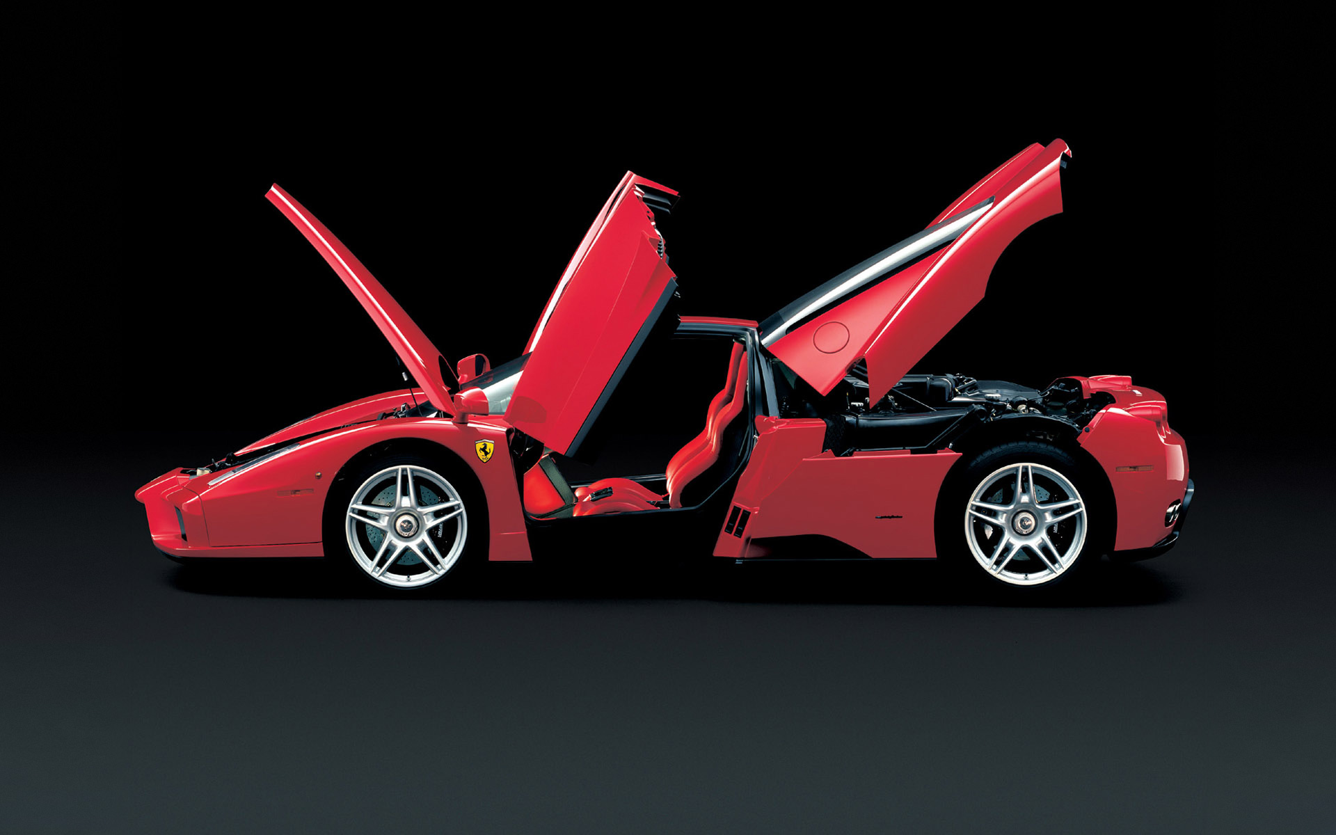 Women With Cars Desktop Vehicles Ferrari Enzo Doors Open 252693 Wallpaper Wallpaper