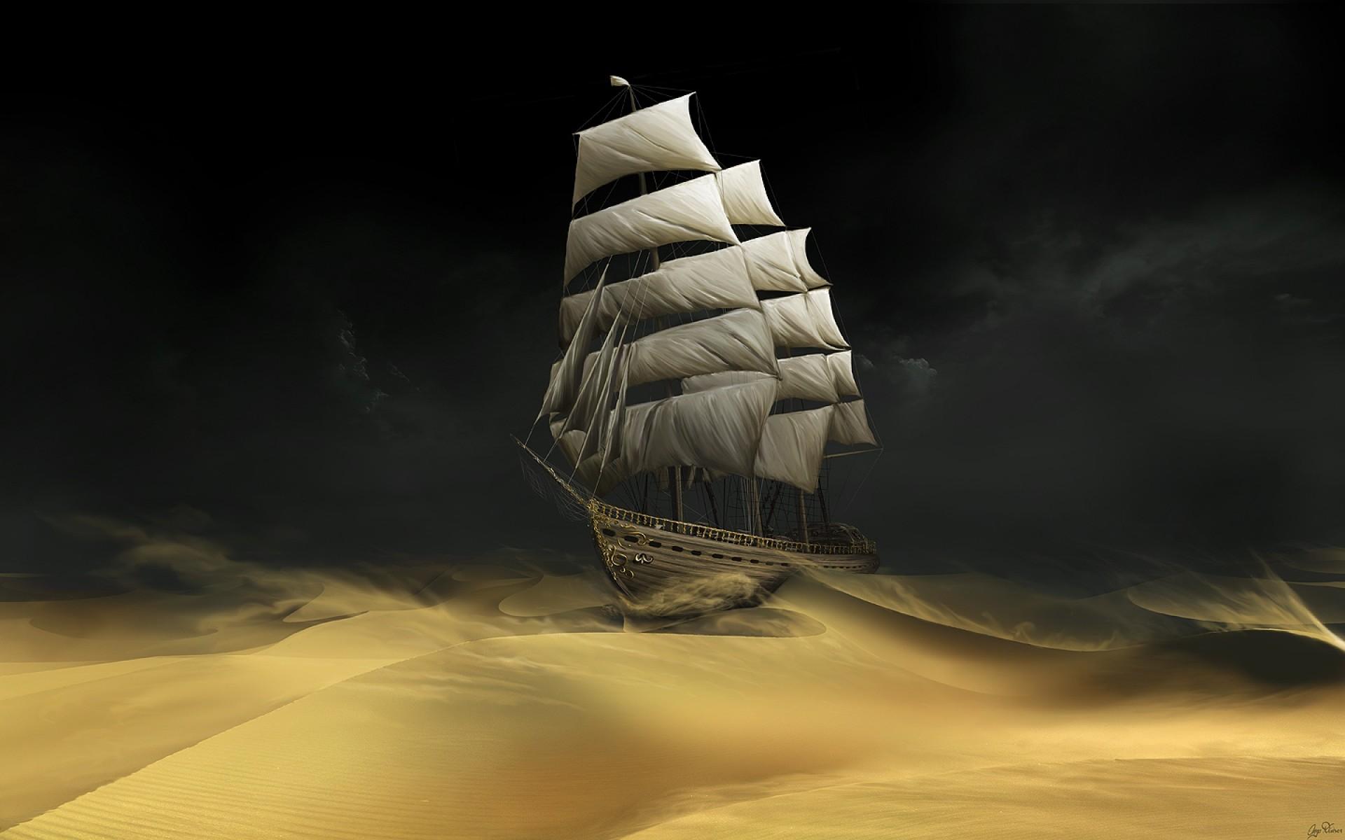 Boat Desert Sailing Hd Jootix 223115 Wallpaper wallpaper