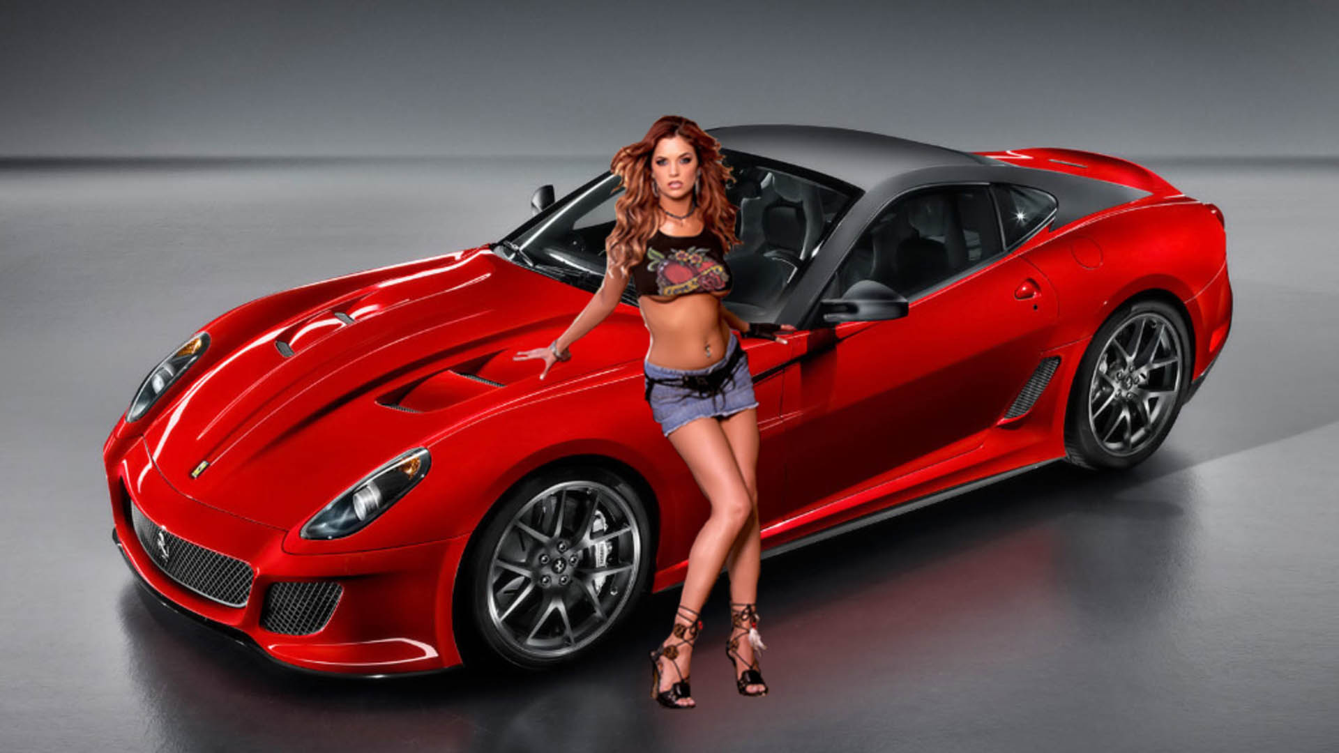 Consider, nude girl with sports car join. And