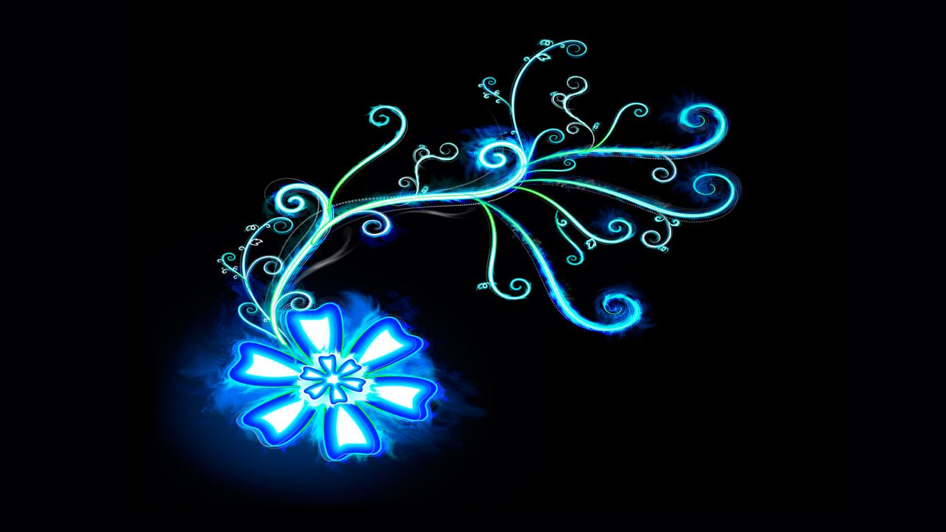 Abstract Blue Bright In Dark Resolution Free 84051 Wallpaper wallpaper