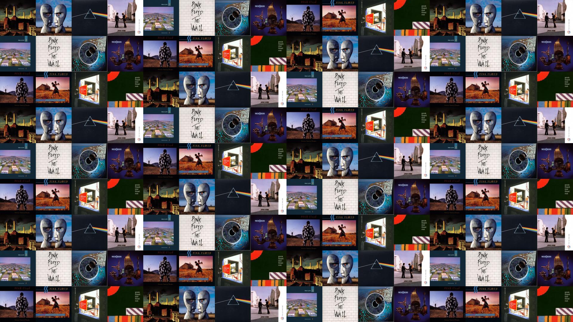 Pink Floyd Animals Division Bell Dark Side Moon Tiled 424919