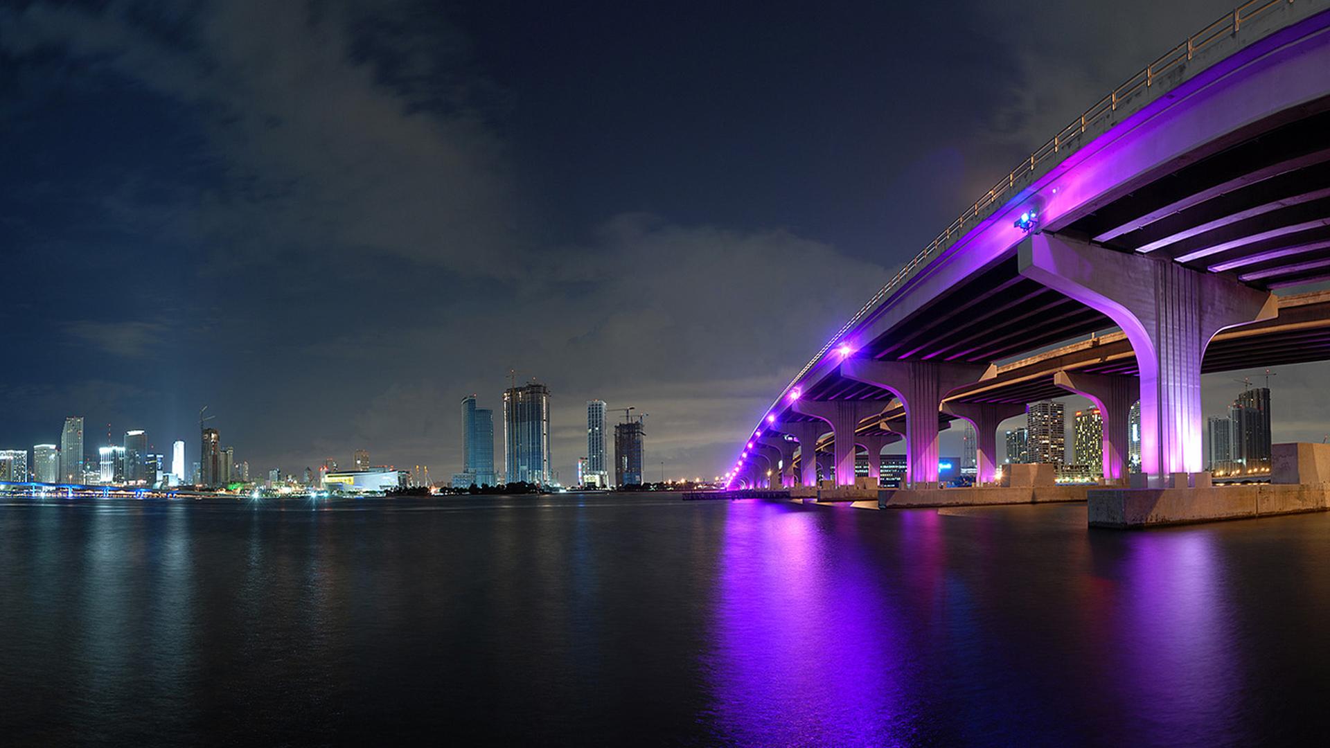 Miami city wallpaper