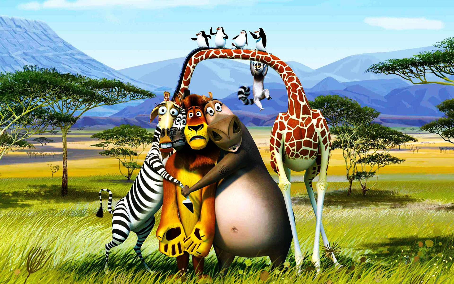 2012 Madagascar 3 wallpaper