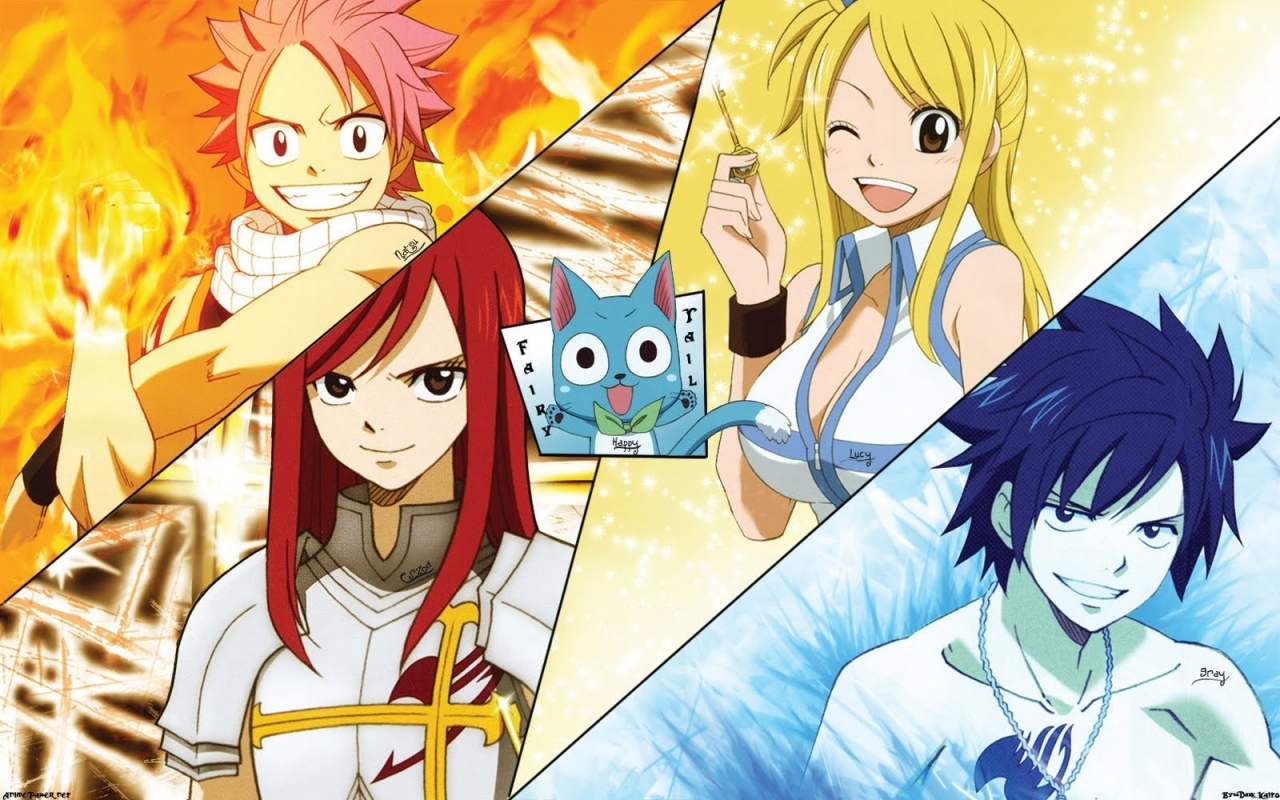 Erza Scarlet Group Fairy Tail 760889 Wallpaper Wallpaper