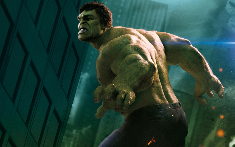 Hulk in The Avengers wallpaper