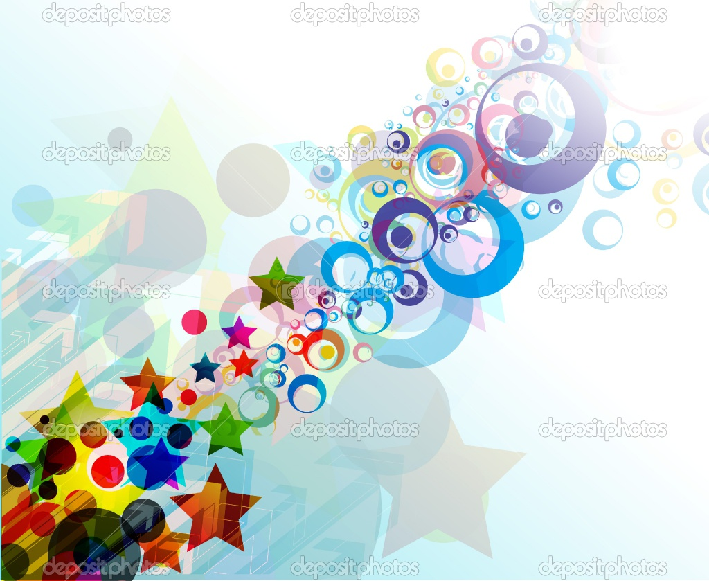 Abstract Colorful Circle Stock Vector Redshinestudio 243160 Wallpaper wallpaper