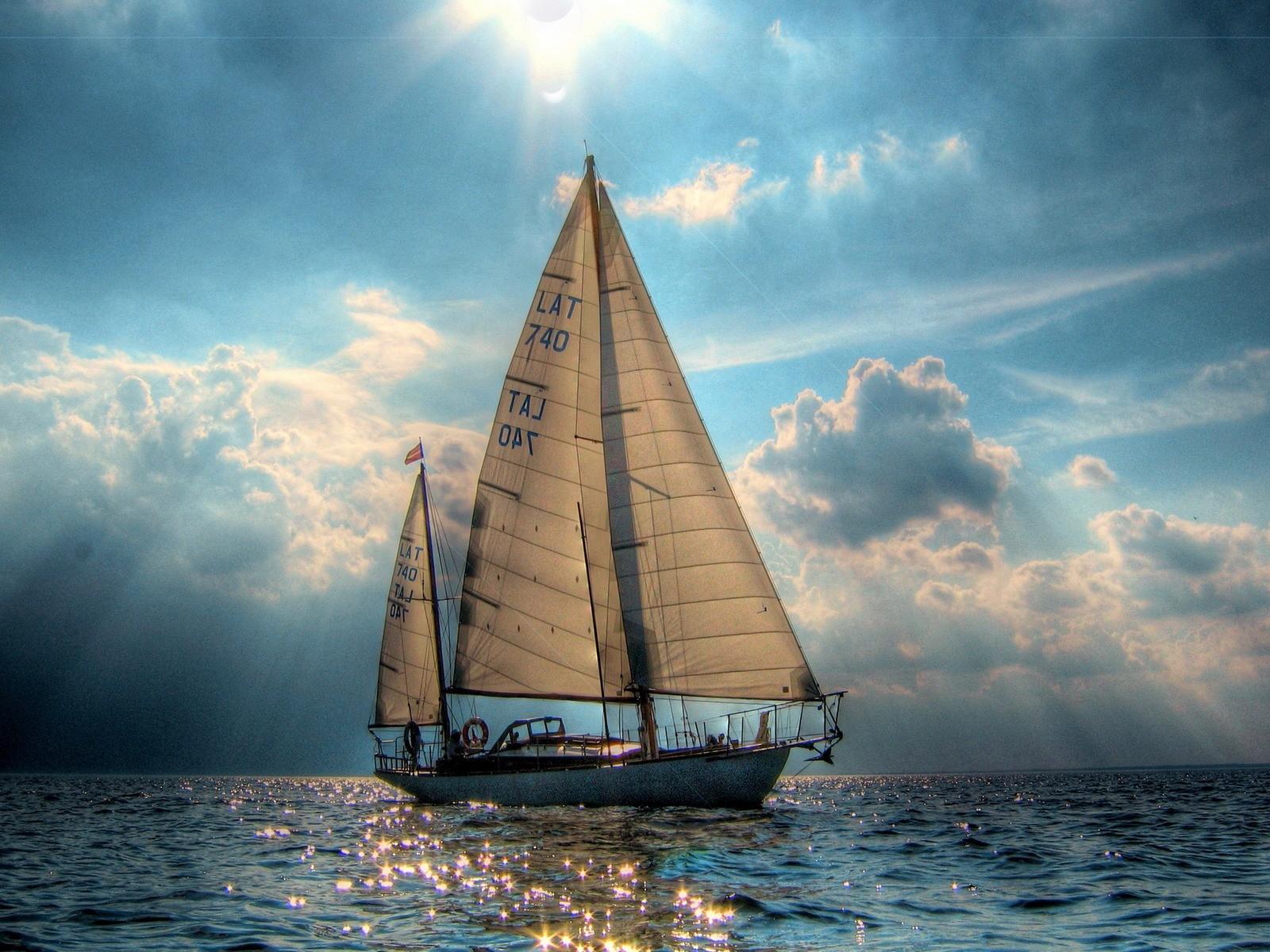 Sailboat Sea Ocean Hd Jootix 514841 Wallpaper wallpaper