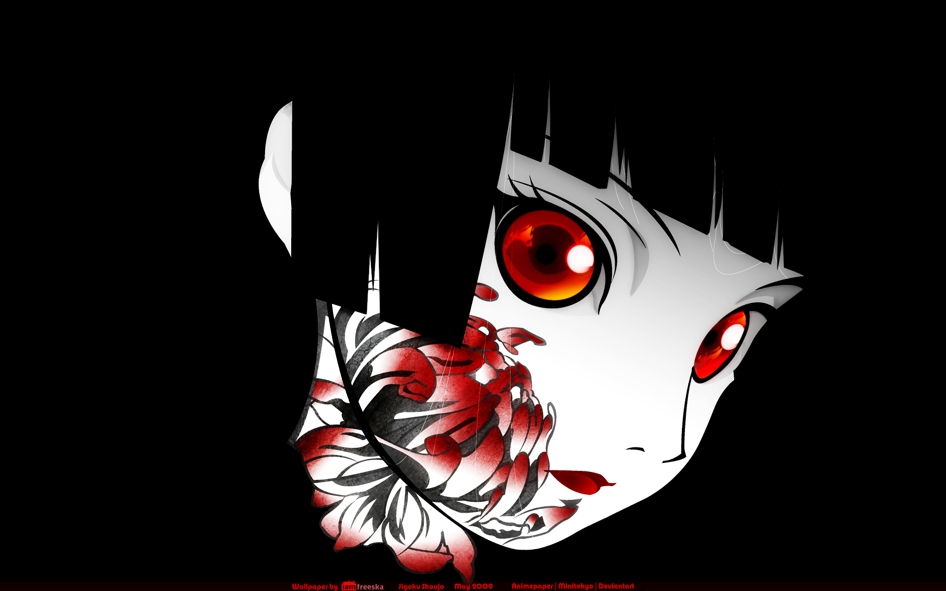 Dark Anime Jigoku Shoujo Girl From Hell Hd Imagez Only 577410