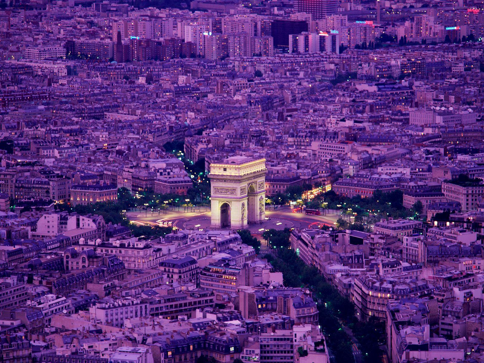Arc de Triomphe Paris France wallpaper