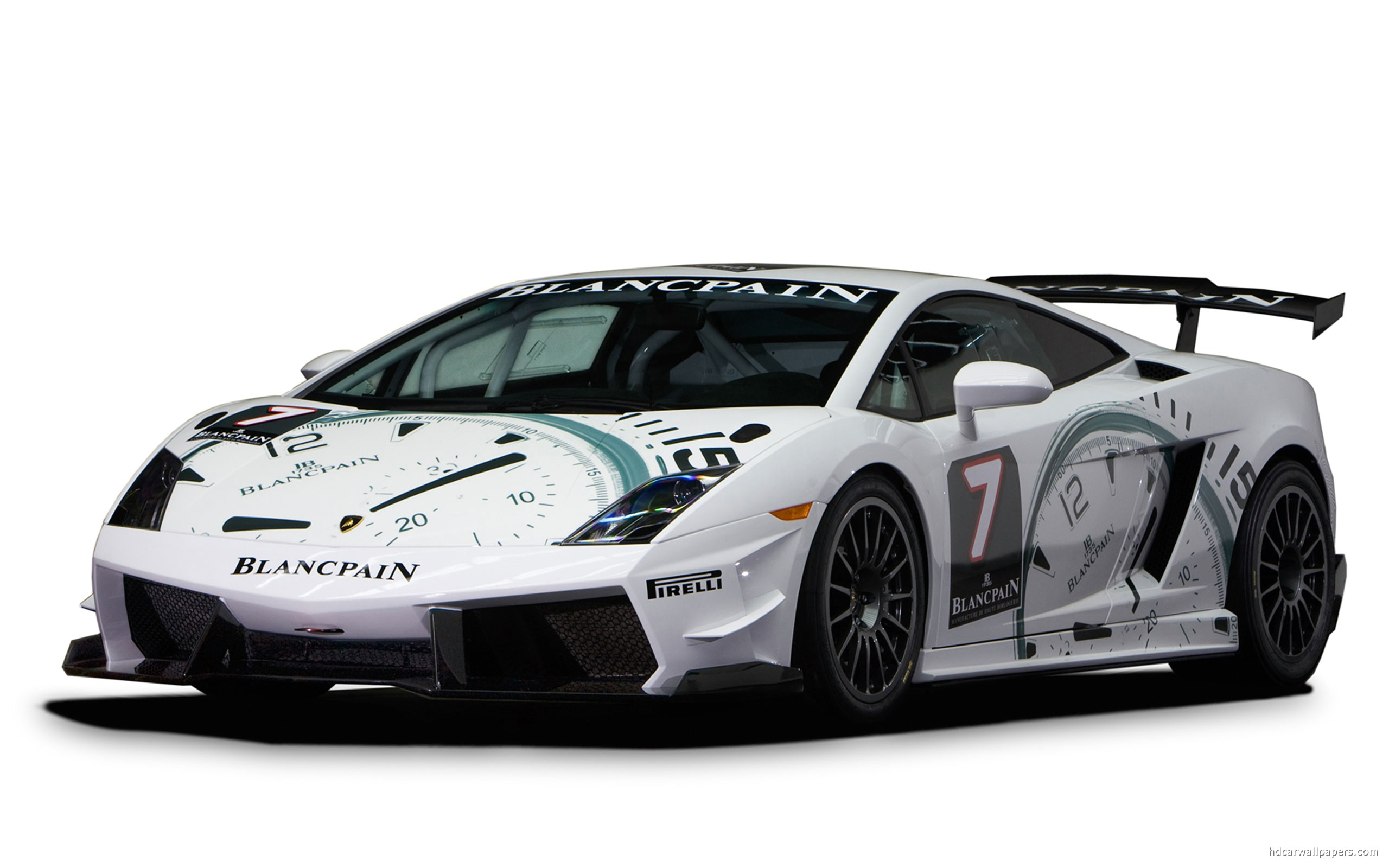 Police Car Hd Lamborghini Blancpain Super Trofeo 344092 Wallpaper
