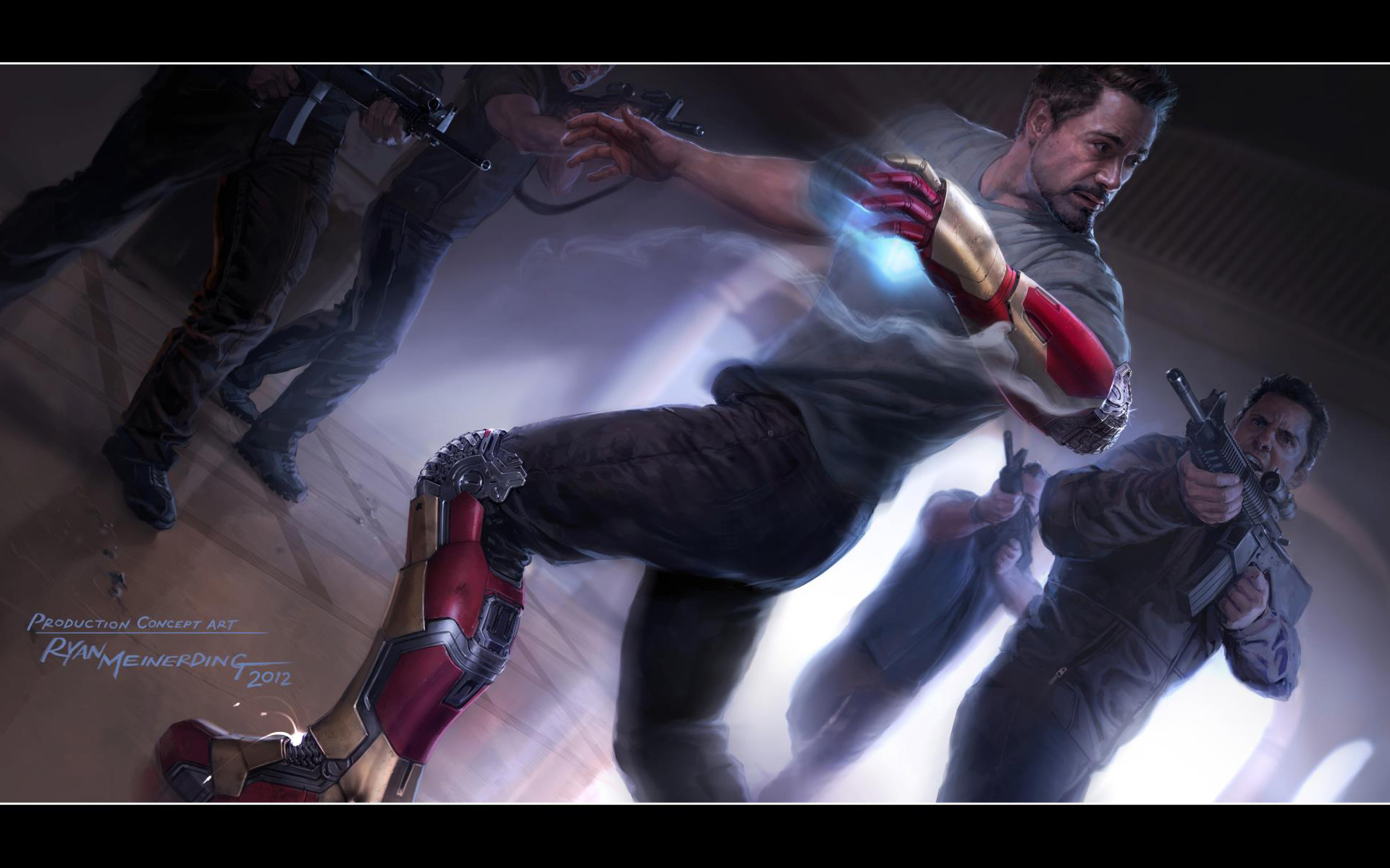 iron man 3 concept wallpaper