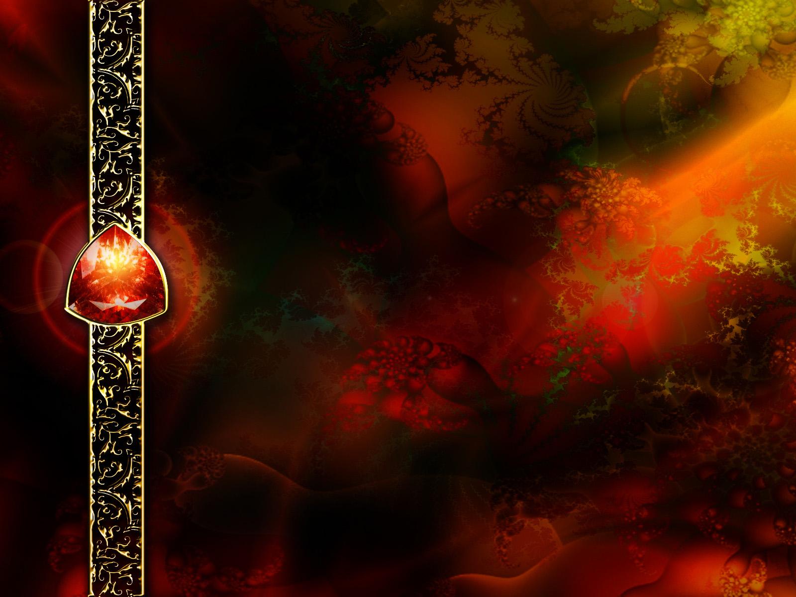 Red Abstract Fractals 462550 Wallpaper wallpaper