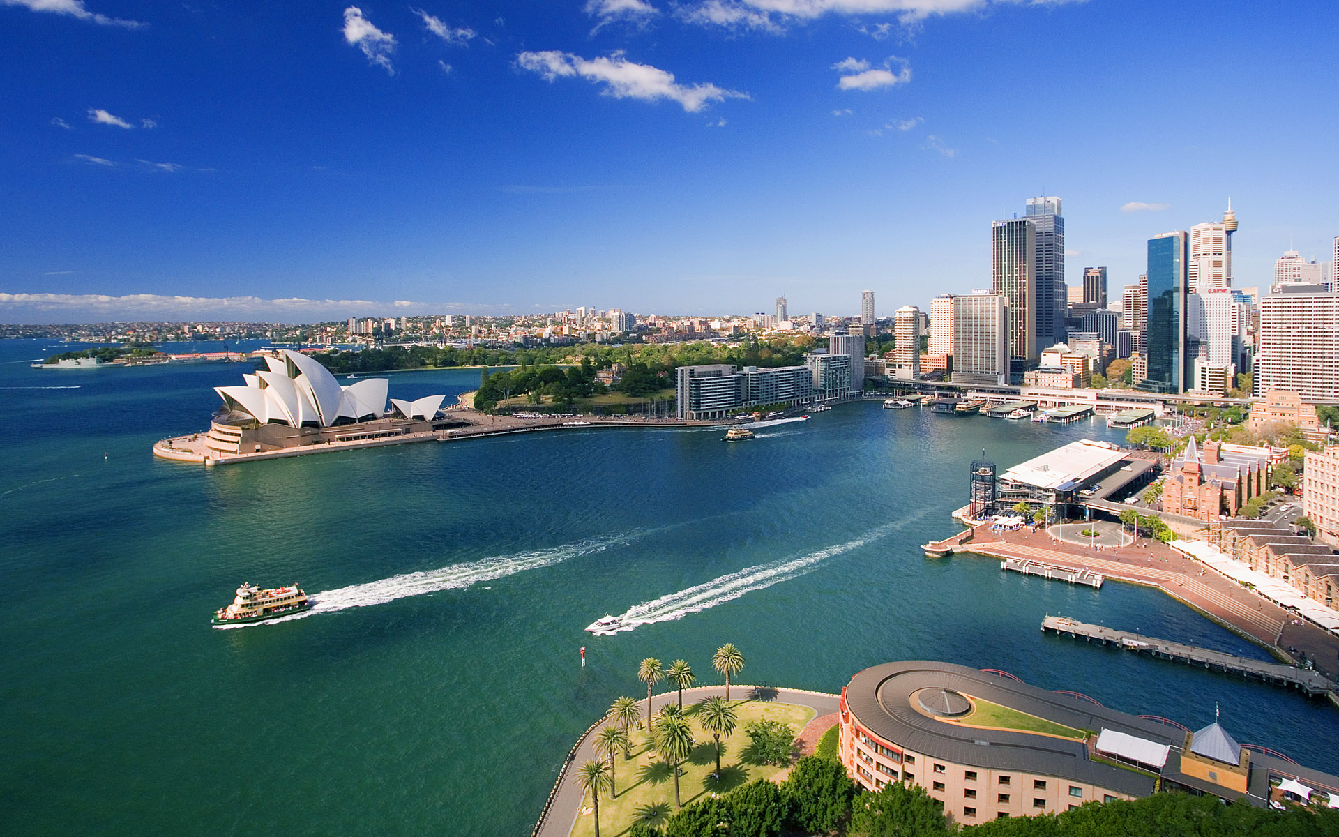 Downtown Sydney Australia wallpaper