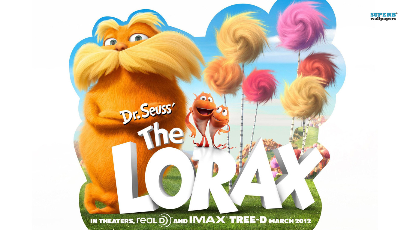 Cartoons The Lorax Cartoon 274218 Wallpaper wallpaper