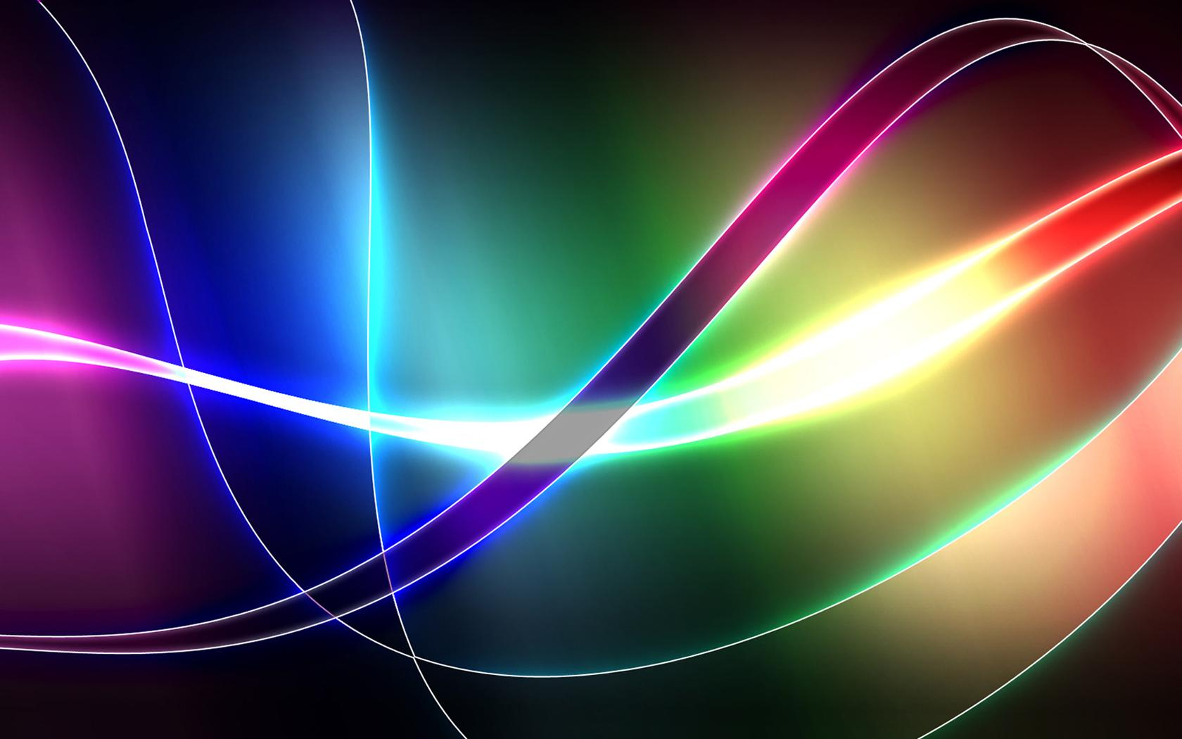 Rainbow Abstract Graphic Waves Colors Wave 105758 Wallpaper wallpaper