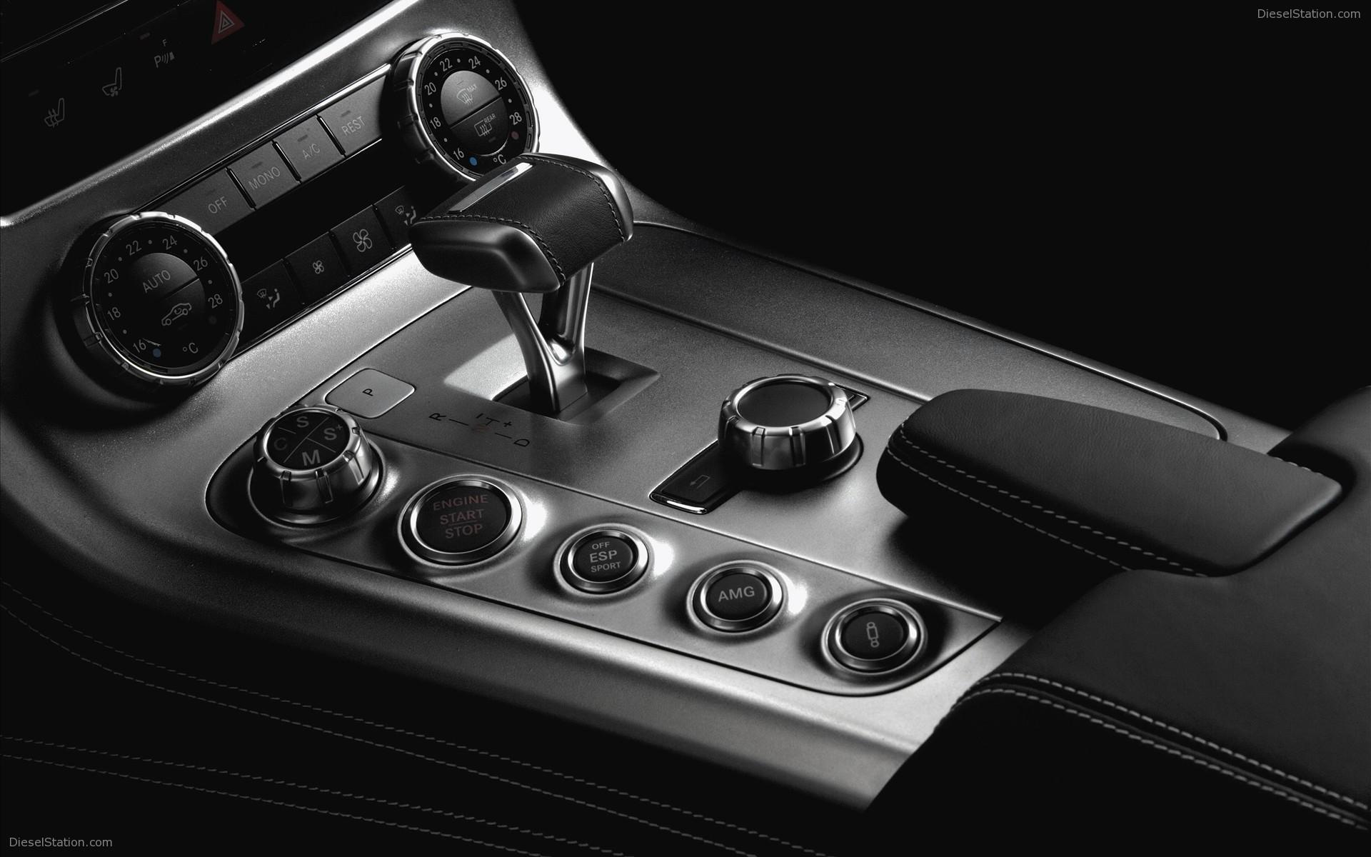 Metal Carbon Mercedes Benz Sls Amg Interior Widescreen Exotic Car