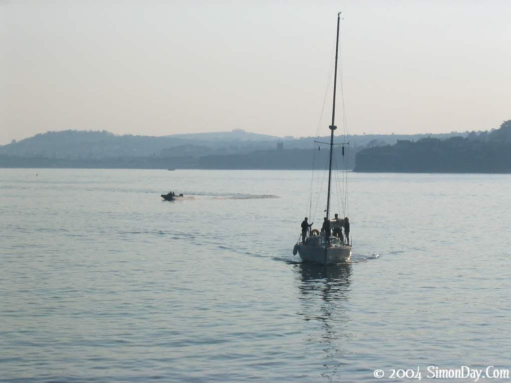 Boats Free Of At Sea 80489 Wallpaper wallpaper