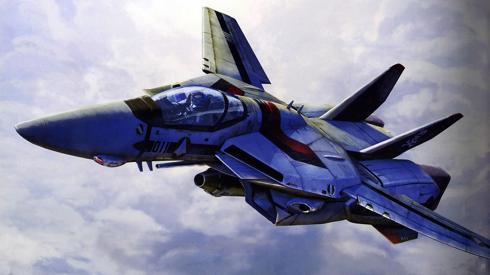 Aircraft Macross In Hd Crunch Com 489106 Wallpaper Wallpaper
