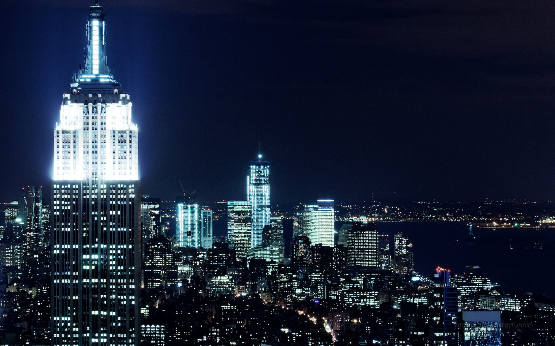 New York City Nights Wallpaper