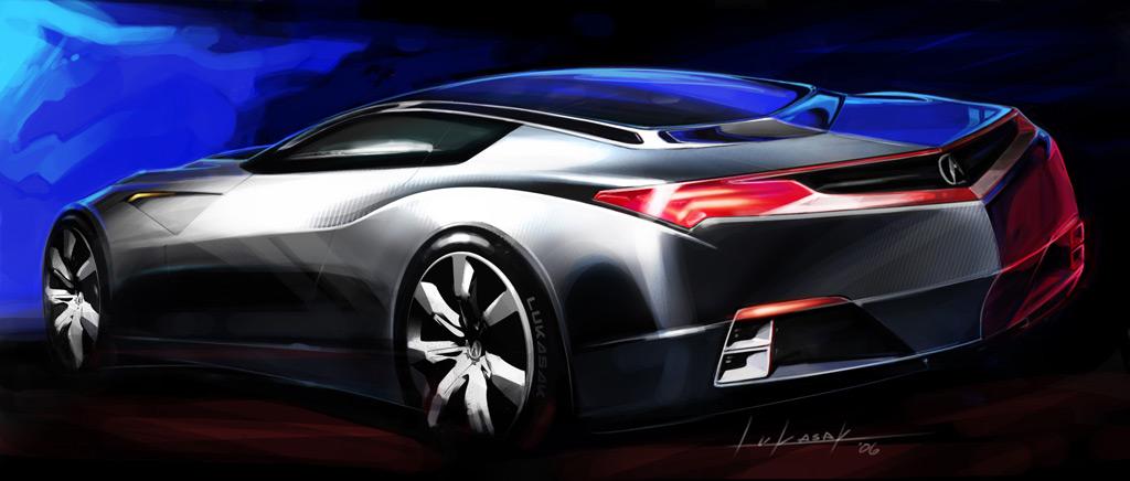Sports Car S Concept Sketch Lg X New Acura Cars 99550 Wallpaper