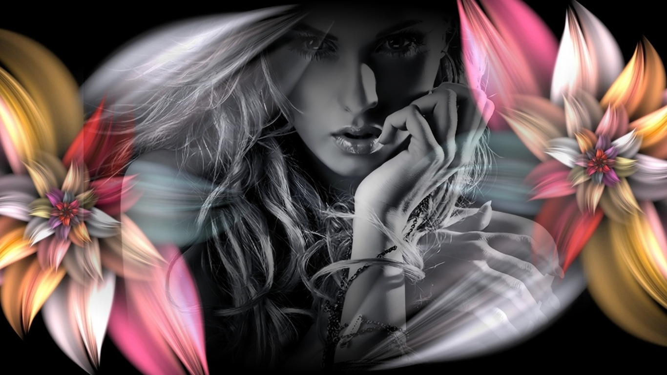 Abstract Flower Fashion Free 564985 Wallpaper wallpaper