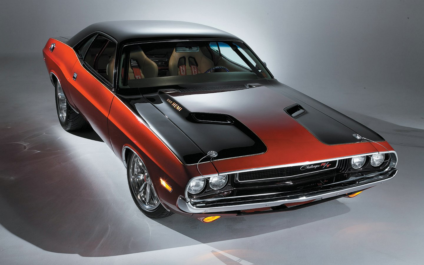 Muscle Cars Challenger Classic American Car Photo Shoot Image Of ...