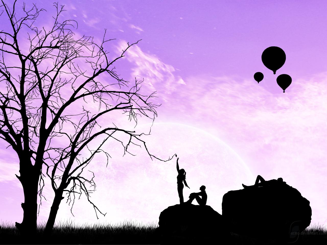 Pink Animal Print Purple Change Desktop Wallpaper