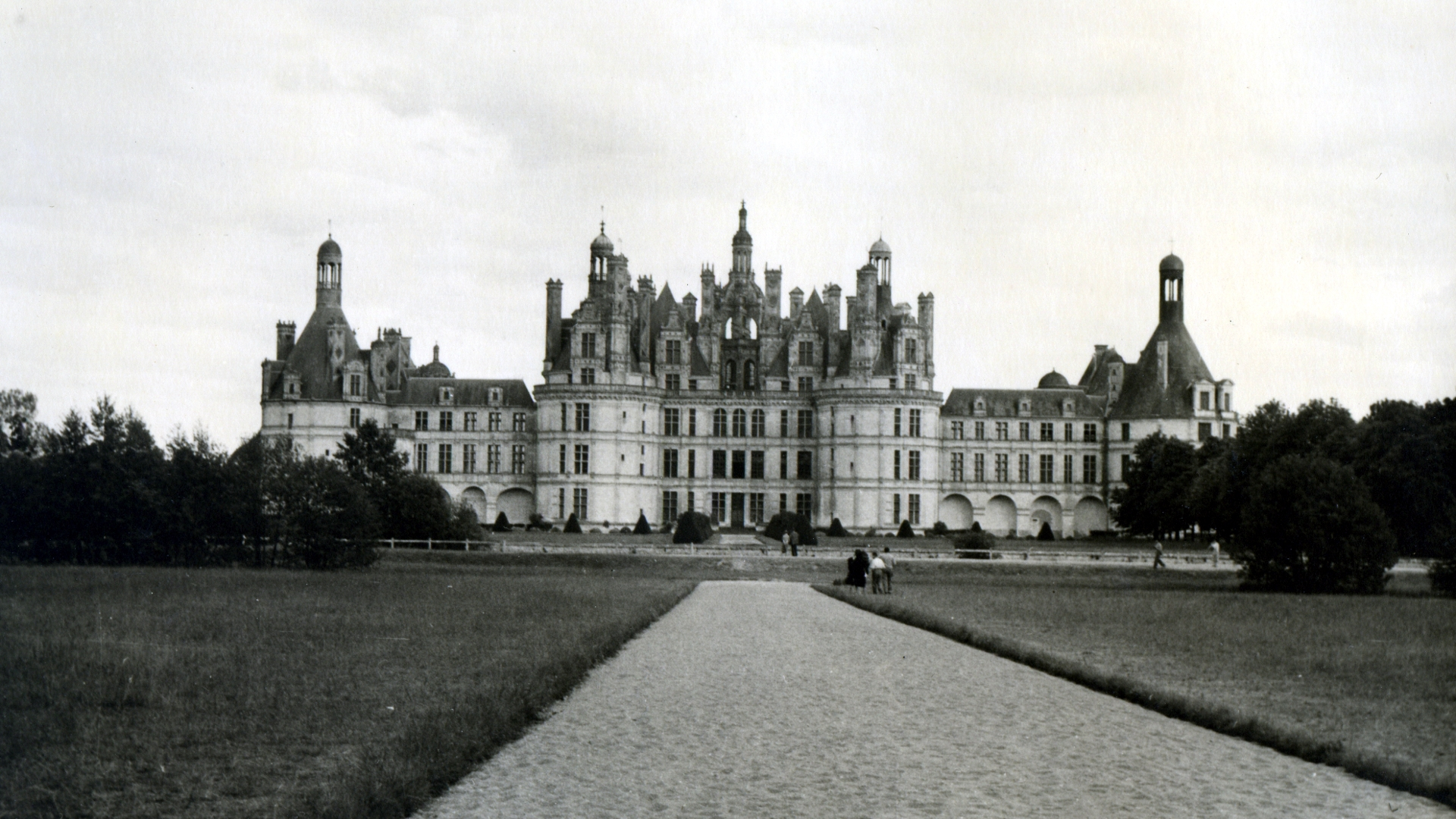 Architecture Photography Wallpaper architecture chambord black and white castle france photography