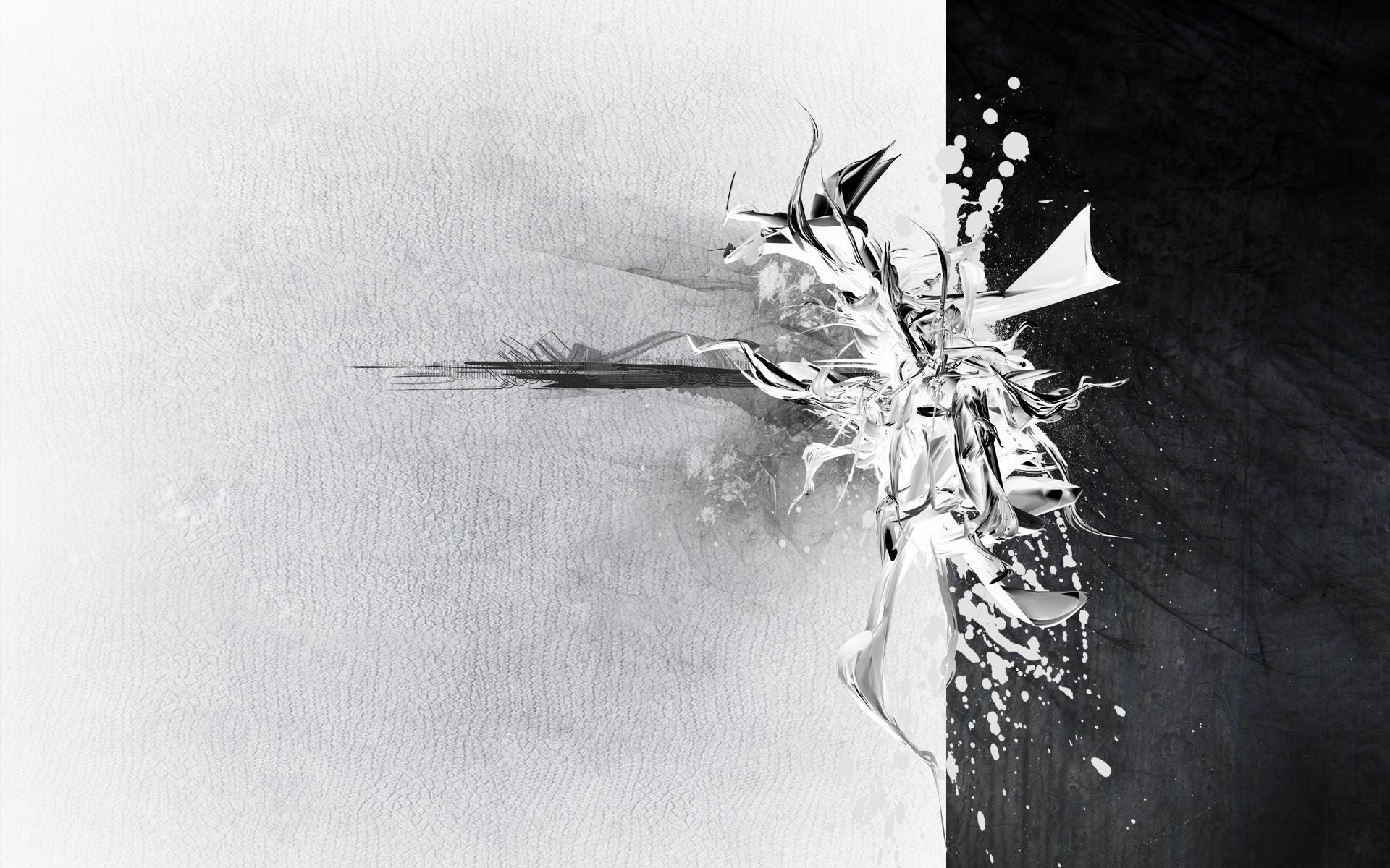 Abstract In White Free Black And Hd 388904 Wallpaper wallpaper