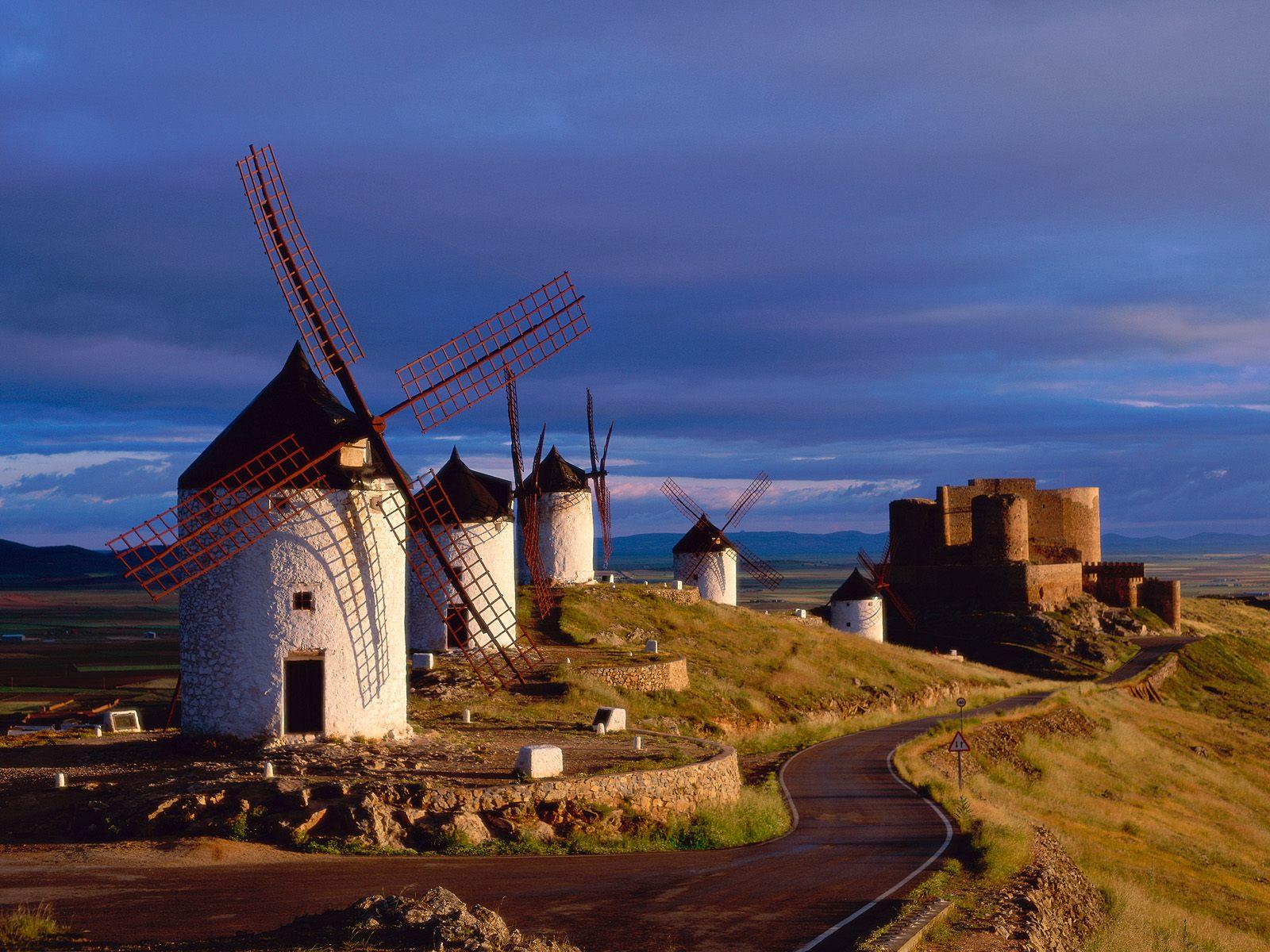 Consuegra La Mancha Spain wallpaper