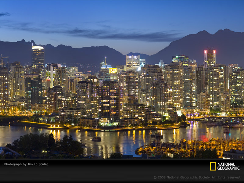 Architecture Vancouver Skyline Host City Of Winter Olympics 150757 Wallpaper wallpaper