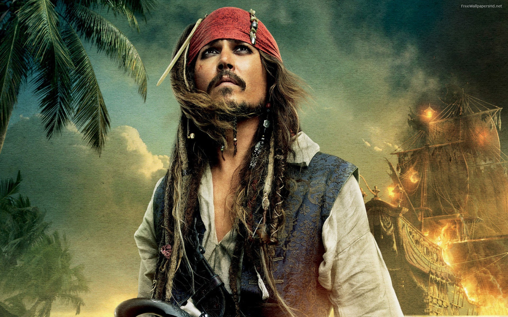 pirates of the caribbean jack sparrow widescreen free hd 1679821