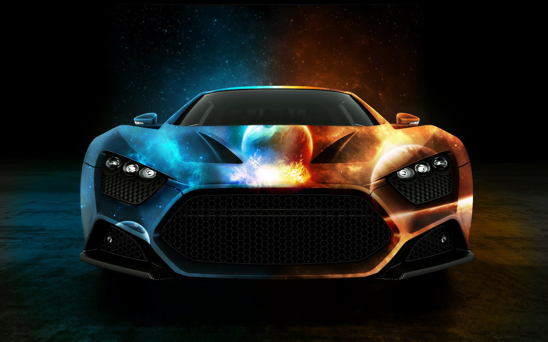 Cool car fire hot original 602425 wallpaper wallpaper
