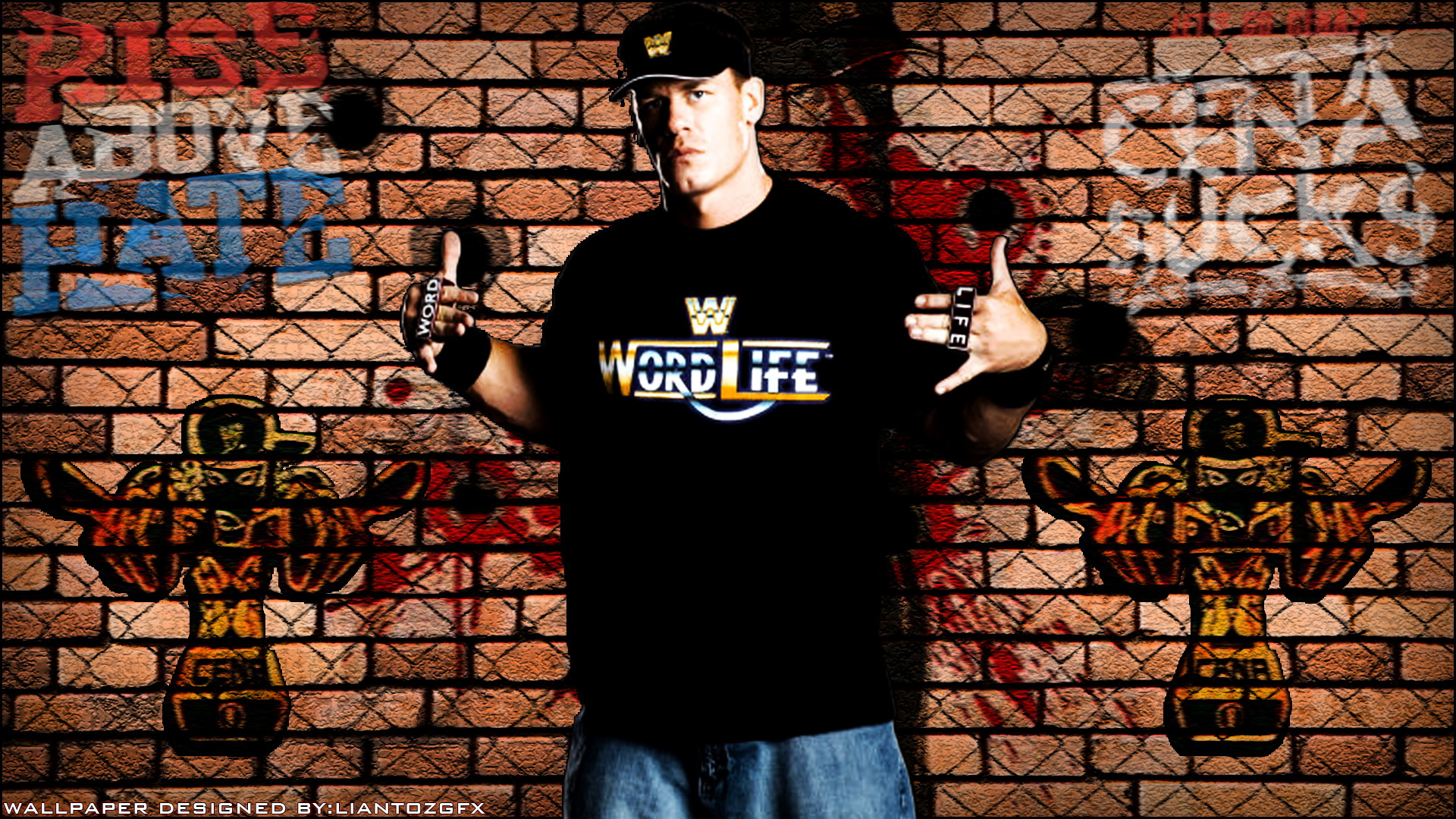 John Davidson (entertainer) HD Wallpapers Entertainment Wwe John Cena Brick Wall Wallpaper wallpaper