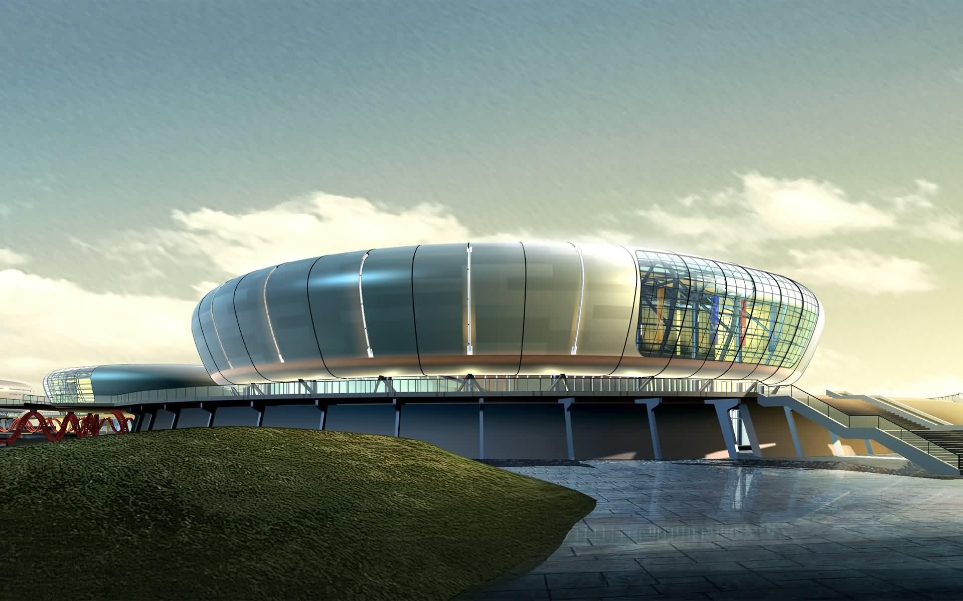 Architecture Sport Arena D 311255 Wallpaper wallpaper