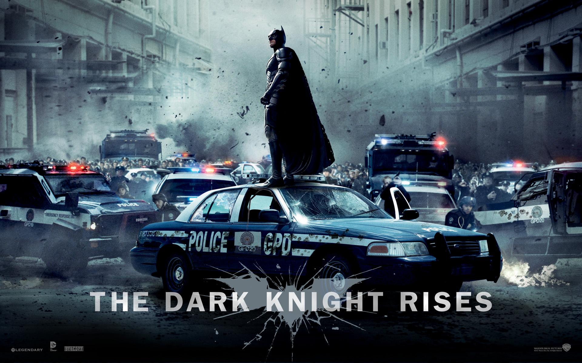 Batman Superhero Dark Knight Rises Wallpaper