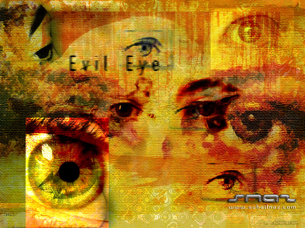 D Abstract Art X Contact Links Home Digital Collage Evil Eye 496944 Wallpaper wallpaper