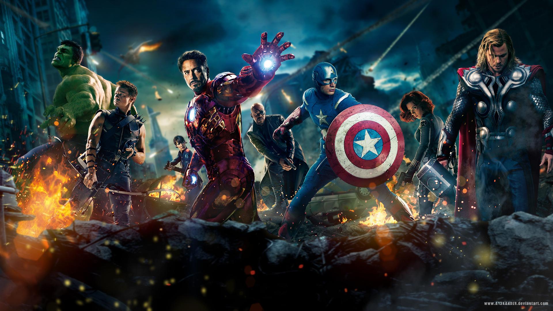 The Avengers Movie 2012 wallpaper