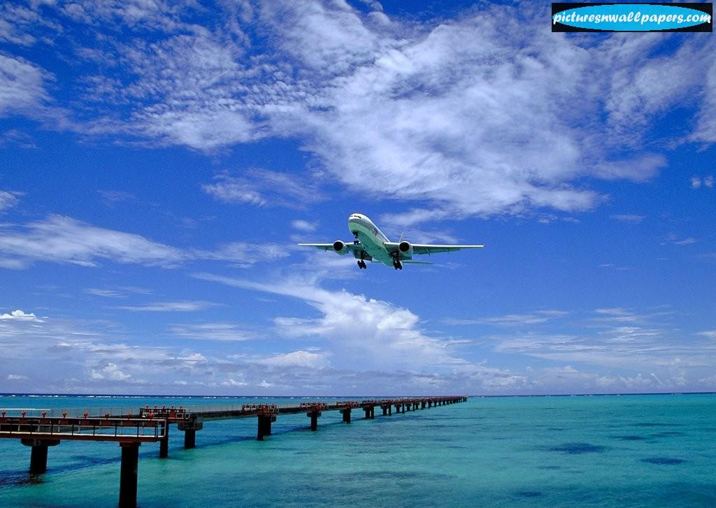 Aircraft Pictures Beautiful View Captured Of A P Enger Plane 105911