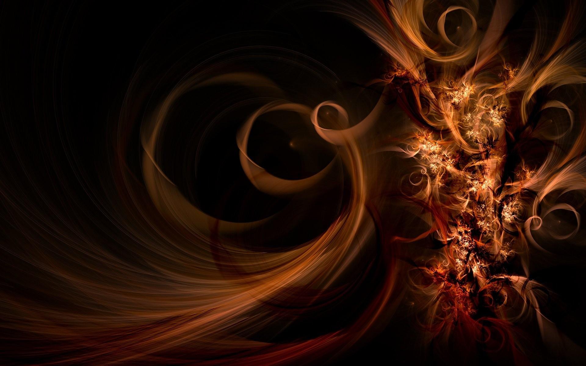 Orange Abstract With Fantasy Light 363254 Wallpaper Wallpaper