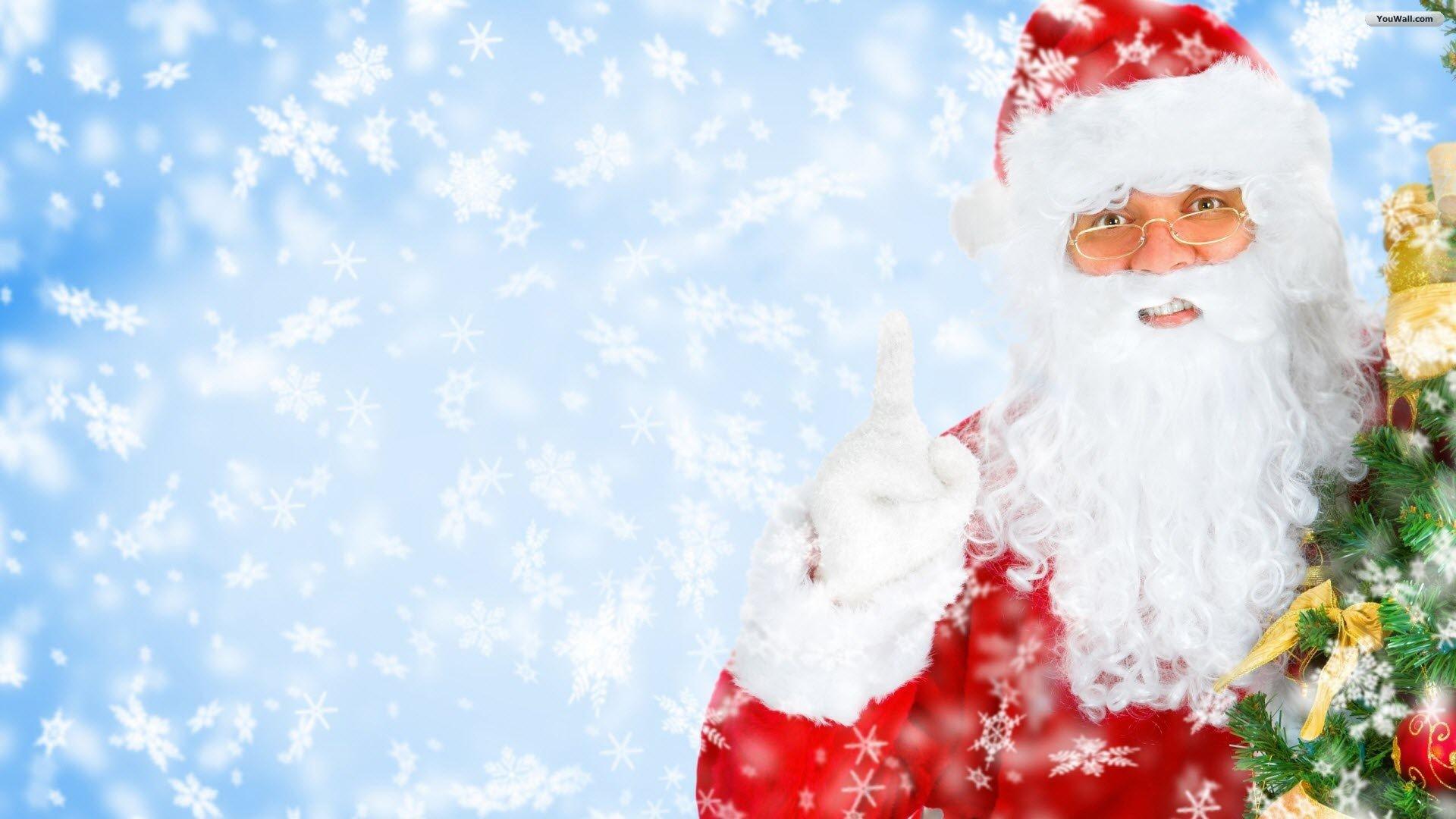 santa clause cartoon youwall claus free 202783 wallpaper wallpaper - Free Santa Pictures