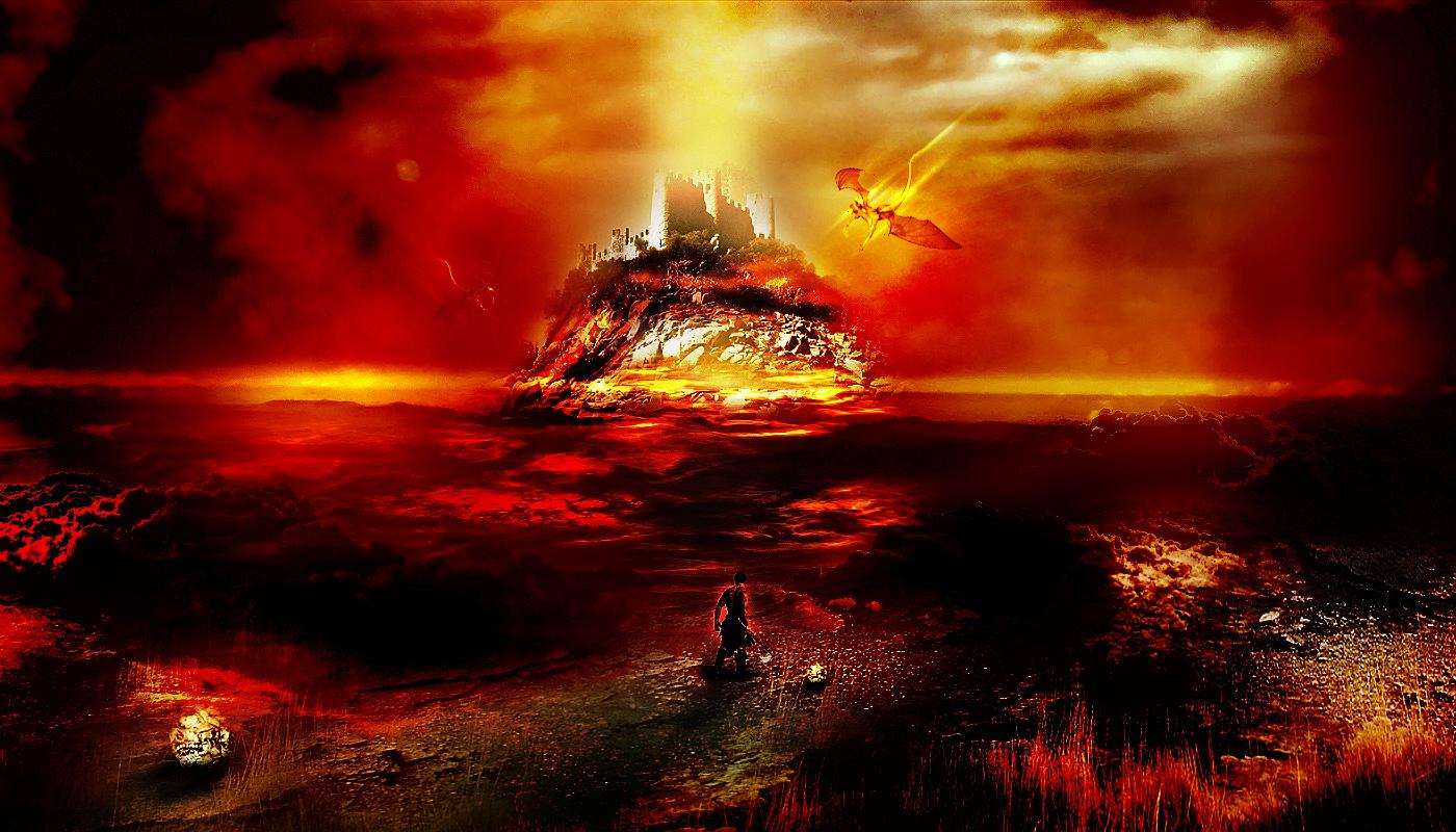 Animal Inferno Hell Scene Flatten Free Computer 570616